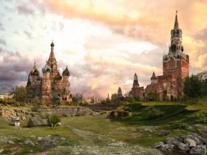 Москва-лето