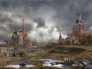 Москва-весна