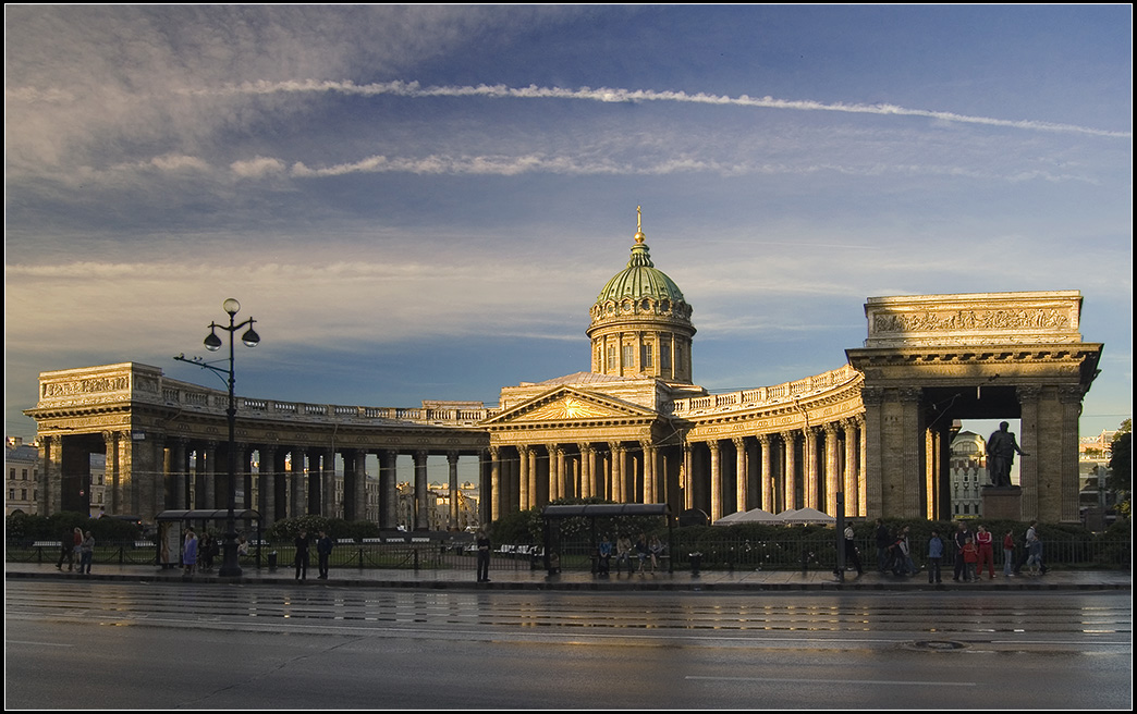 Православный Казанский собор. СПб