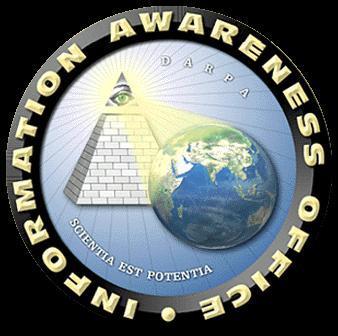 """Эмблема инициативы """"Тотальная информационная осведомленность"""", под эгидой министерства обороны США"""