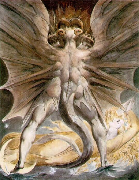 Красный дракон Вильям Блейк
